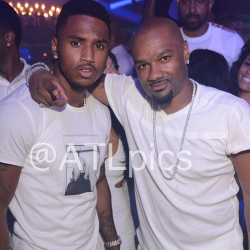allthingstreysongz:  Trey & Tigger @ Prive in ATL