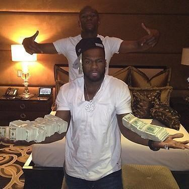 50 Cent, 50cent - RT @FloydMayweather: HOLD MY MONEY FUCK BOY @50cent