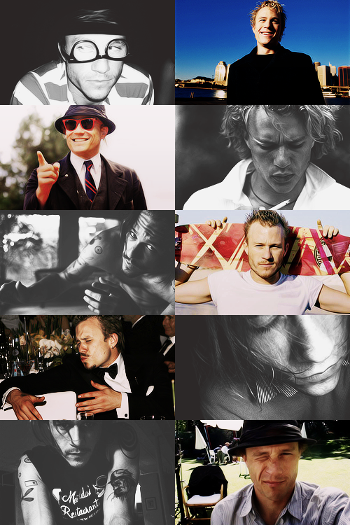 williamsledger:   Heathcliff Andrew Ledger ♥ (4 April 1979 – 22 January 2008)