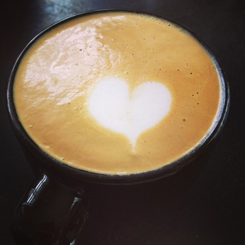 Heart in a macchiato! 😘❤☕ (at La Patisserie)