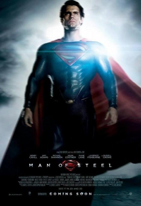 totalfilm:   Three new character posters for Man Of Steel Man Of Steel has released the first three offerings in a new series of character posters, with Jor-El, Zod and Superman the first to enjoy the spotlight…
