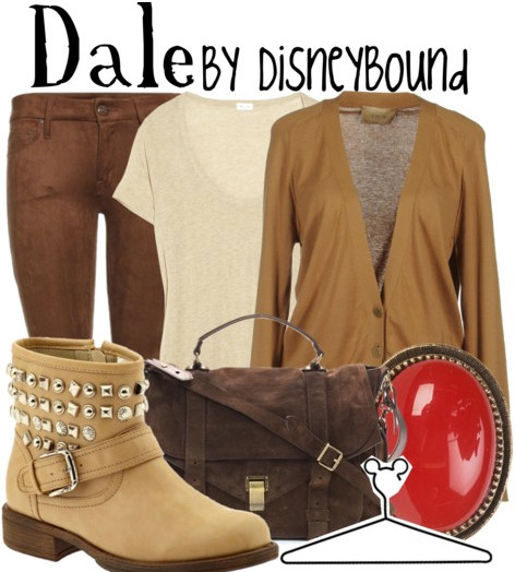 disneybound:  Buy it here!  Love the red accent!