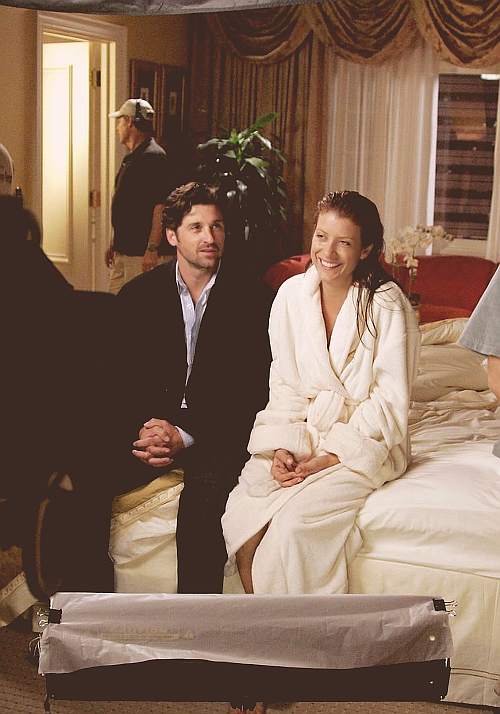 Patrick Dempsey x Kate Walsh - 3.02 I Am a Tree [Behind The Scenes]
