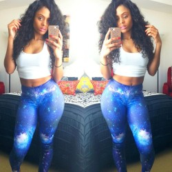 fashionpassionates:  Get the leggings here: GALAXY ME LEGGINGS OR Shop full leggings collection here: GALAXY LEGGINGS