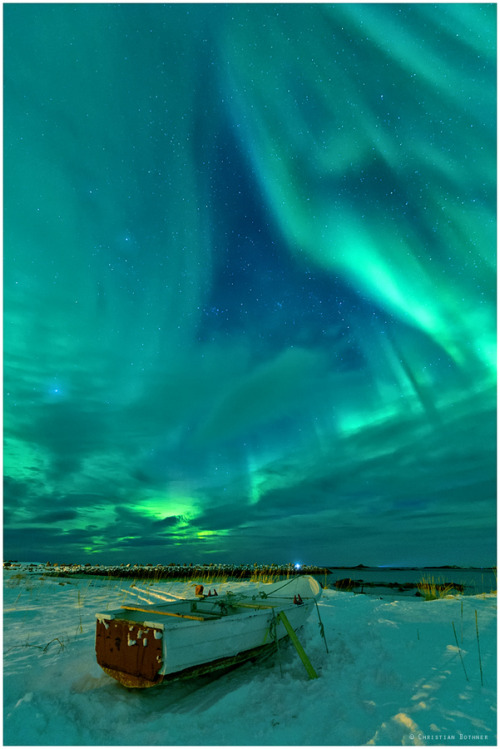 Northern Lights  eveningstarr: By Christian Bothner