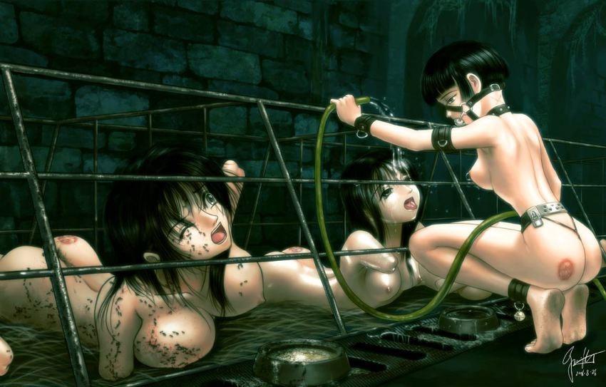 Nude armless girls