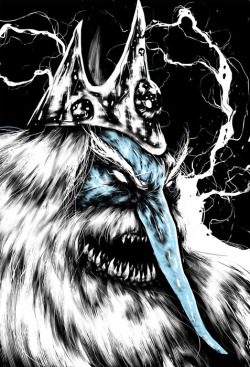 voodoo-acid-zombie:  Ice King