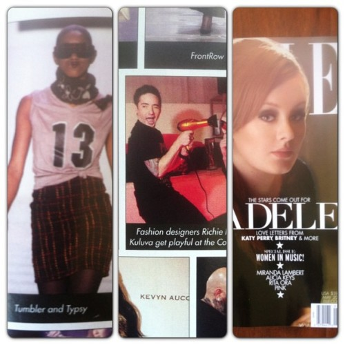 tumblerandtipsy:  ELLE Magazine #May issue featuring myself, @tumblerandtipsy & @sbshades! Xoxo-MK #michaelkuluva #fashionweek #fashion #like #love #likemypic #cute #fashionweek #pink #tbt #cool #instacool #instapic #popular #insta_shot #instagallery #photolocker #picoftheday #photooftheday #13 #nyfw
