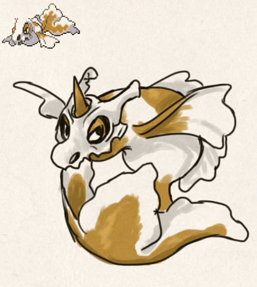 Cudeen, this one is neat, cubone with anything is neat.