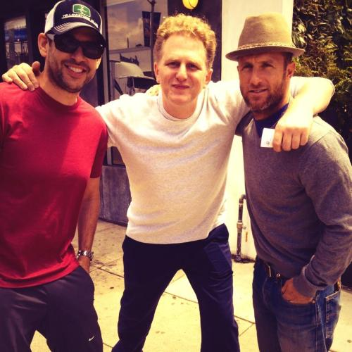 Scotty with Doug Ellin and Michael Rappaport in Los Angeles - May 7, 2013 (x)