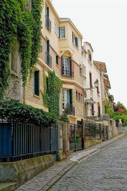 Rue Georges Braque, Paris XIV by amenet on pinterest.com