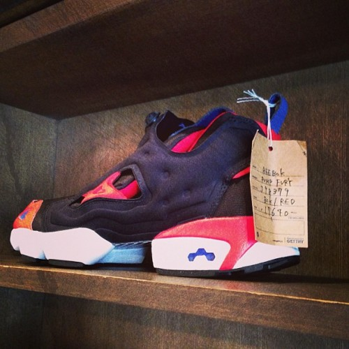 they got the pump fury's…..#sneaker #heaven #japan #harajuku (at CHAPTER 原宿店)