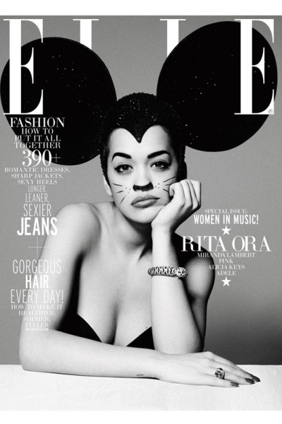 Rita Ora for Elle [May 2013]