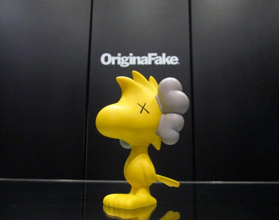 You're a Good Man, KAWS KAWS' and OriginalFake's new 6-inch figure of Woodstock is a winner. I've loved Snoopy and Woodstock since I was a wee child, and this figure would be a great buy. But I don't think I could swing the $229 for it. If I did, my credit card company would probably do this to me. Buy it at ToyQube for $229.