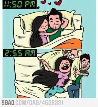 "Hahaha. Always happens to us :"">"