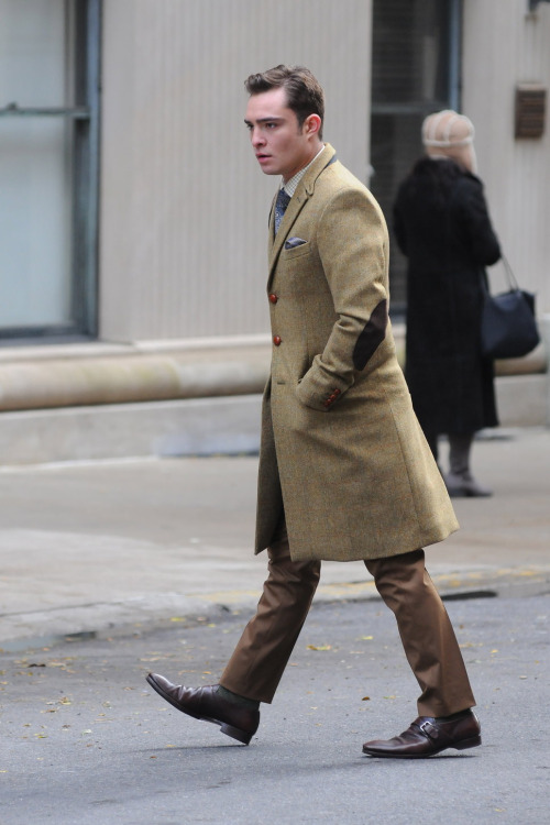 thetieguy:  love love LOVE this overcoat!