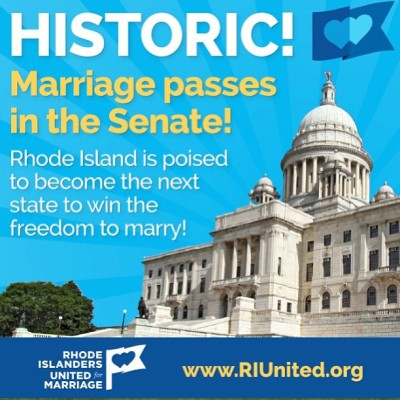 Well done #RI!! Proud of my state! #RI4M #lgbt