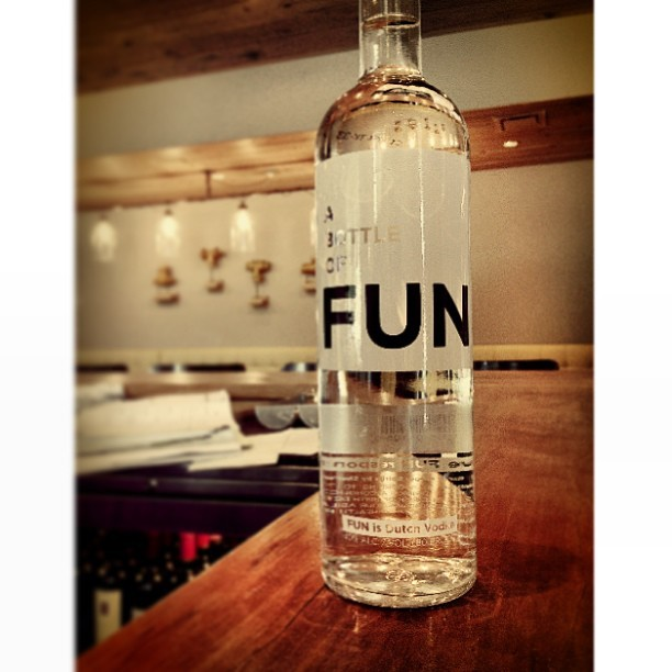 New #dutch #vodka @watershedatl. #bottle of #fun #butisitbetterthantheband (at Watershed on Peachtree)