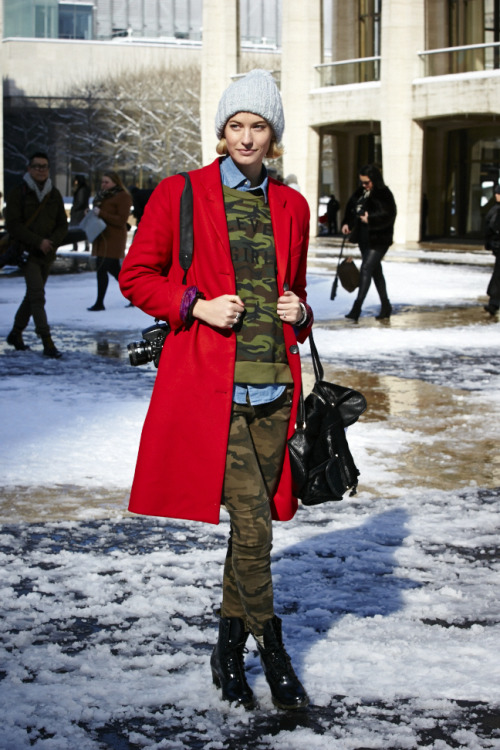 47 winter outfit ideas to steal from NYFW. Photo: Ronnie Andren