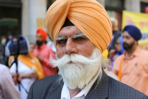 humansofnewyork:  This particular type of mustache is known as The Sari Dropper.  oh my god.