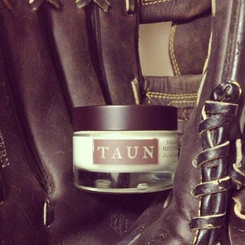 You don't want your skin looking like a weathered, old baseball mitt, do you? Avoid the leather-look with Taun's Facial Repair Formula. It reduces fine lines while safeguarding from future damage.
