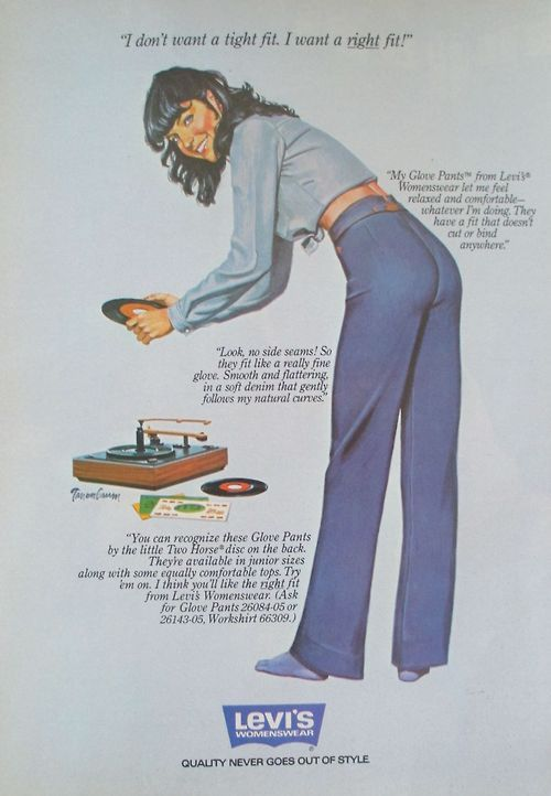 superseventies:   1979 Levi's advertisement.