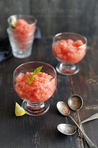 Watermelon granita by StuderV on Flickr.