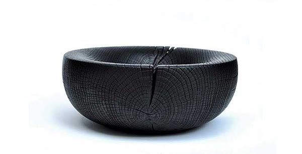 kaitolovesthis:  BURNT WOOD BOWL by Gary Allson