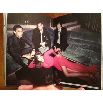 Chromatics: Read the interview and check out their fav Portland spots. photo by Richard Bernardin http://revelinportland.com