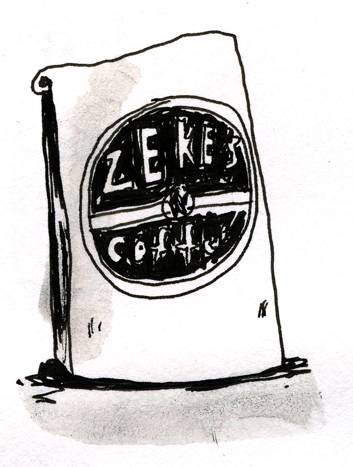 Zeke's coffee, found in markets in Baltimore and DC.