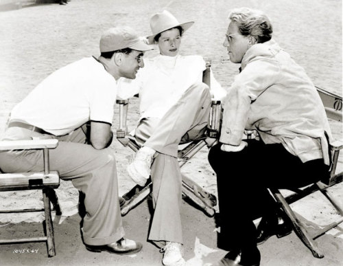 Elia Kazan, Katharine Hepburn and Spencer Tracy discuss The Sea of Grass