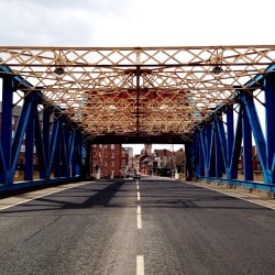 Industrial #Hull #ScherzerBridge #RollingBridge #EmptyRoad (at Drypool Bridge)