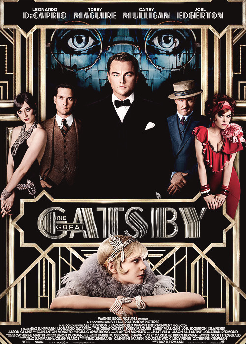 New official poster for The Great Gatsby
