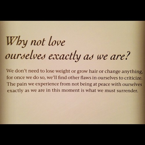 lovevolutionisnow:  Embrace who you are in your heart and just be yourself.