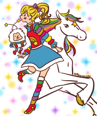 Rainbow brite! for Childhood heroes theme.