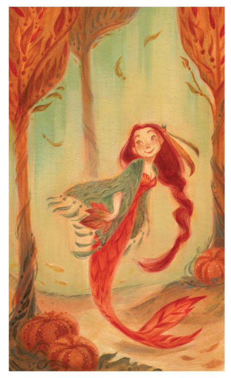 "fairytalemood:  ""A Mermaid for All Seasons"" by Casey Robin"