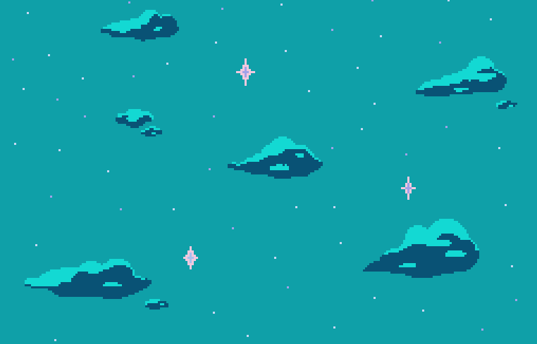 ��kirby�� new and improved pixel backgrounds for your blogs