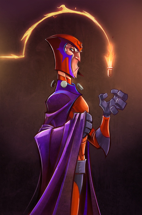 lulubonanza:  Magneto Colors by *frogbillgo