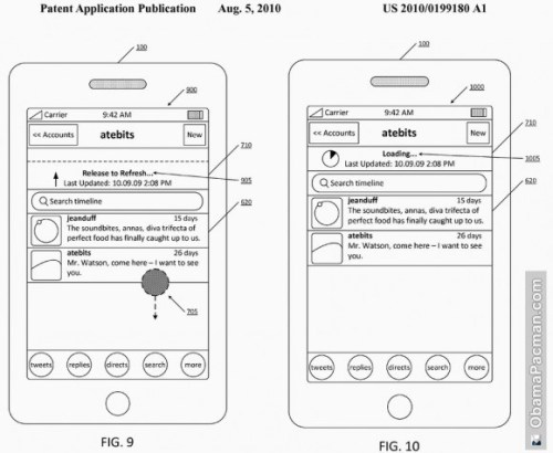 "(via Oh, That ""Pull To Refresh"" Thing In iOS? Yeah, Twitter Has A Patent App On That 