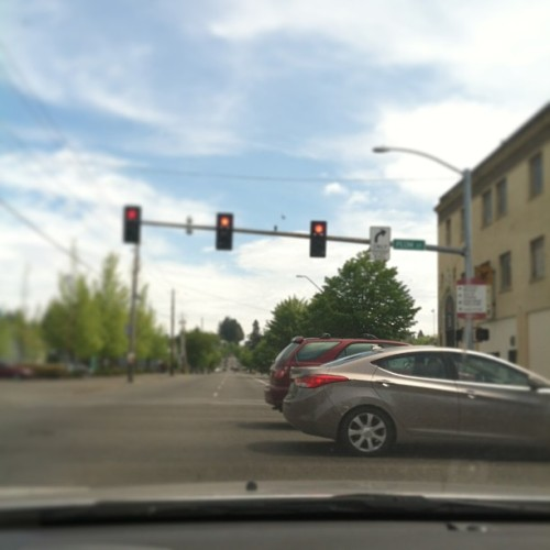 When this light turned green, these cars felt the full force of my rage. #ahornhonk