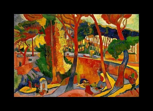 The Turling Road, by Andre Derain
