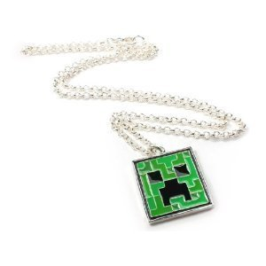 Minecraft Creeper Pendant Necklace at $13.22 I am the Notorious MC Creep, I blow up your party and watch you weep. Every day I'm shuffling on my four little feet, wrecking those Steves and hopping to the beat. I've got rhymes that will blow your mine; Notch should have nerfed me in patch one-nine. You want to join my crew? Then wear this bling. You've got no idea the swag it will bring.