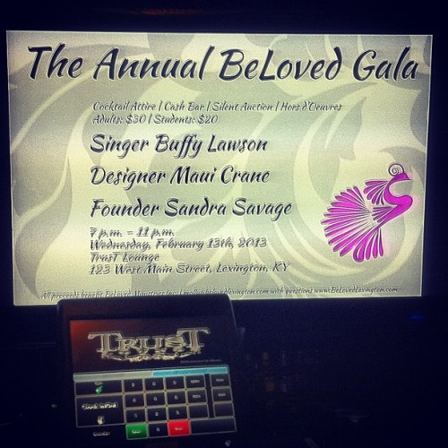 #BeLovedGala  (at Trust)
