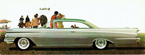 1959 Oldsmobile Ninety-Eight Holiday SceniCoupe by aldenjewell on Flickr.1959 Oldsmobile Ninety-Eight Holiday SceniCoupe