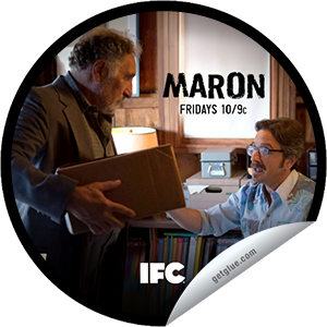 I just unlocked the Maron: Marc's Dad sticker on GetGlue                      1274 others have also unlocked the Maron: Marc's Dad sticker on GetGlue.com                  Marc's estranged father shows up with his latest get-rich-quick scheme and the two proceed to air their grievances about each other, leading to a dad-lad power struggle. Share this one proudly. It's from our friends at IFC.