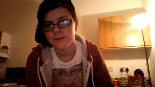 18, from Glasgow, Scotland :) I'm a lesbian, and I'd say probably a soft butch. x Go for it, follow me :D coffeewithtegan.tumblr.com