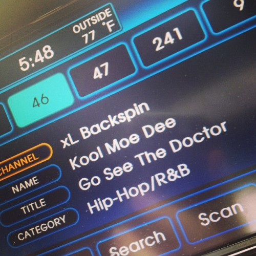 I luhyou #backspin #siriusxm  (at Dwight Eisenhower Expressway)