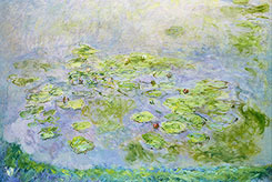 "Claude Monet (1840-1926) ""Without the water, the lilies cannot live, as I am without art.""""I will paint almost blind, as Beethoven composed completely deaf."""