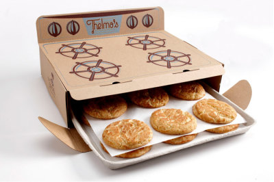 Thelma's Treats Cookies Packaging