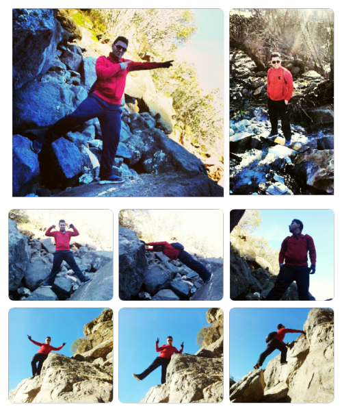 This should Sums up the Weekend Hiking Adventure.